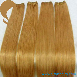 Best Double Drown 100% Remy Human Hair Weft pictures & photos