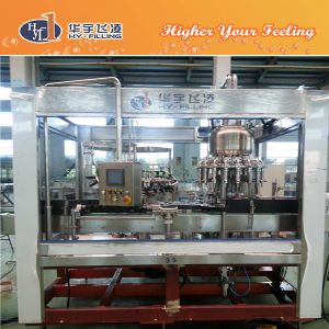 Hy-Filling Glass Orangejuice Hot Filling Machine pictures & photos