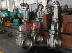 Manual Cast Steel Wedge Gate Valve pictures & photos