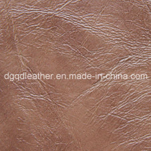 Top Selling Semi-PU Furniture Leather (QDL-51106) pictures & photos