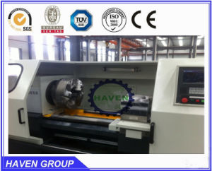 China Supplier Cheap CNC Pipe Thread Lathe QK1332/1500 pictures & photos