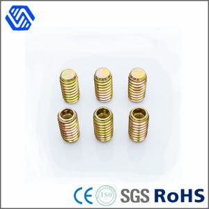 China Supplier Brass Screw Hex Socket Round Head Thumb Screw Slotted Small Set Screw pictures & photos