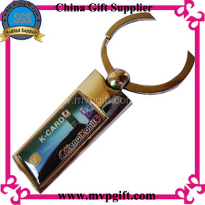 Blank Key Chain with Printed Logo pictures & photos