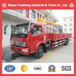 9 Ton Light Truck with Crane 3 Ton pictures & photos