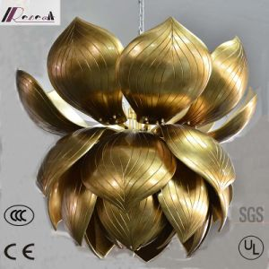 Antique Gold Flower Hotel Project Chandelier pictures & photos