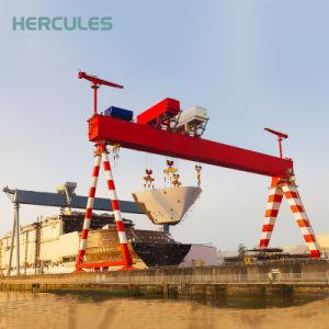 Best Quality Single Girder Gantry Crane with Hoist pictures & photos