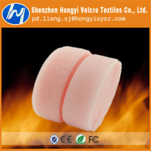 Nylon Material Low Price Flame Retardant Hooked Tape pictures & photos