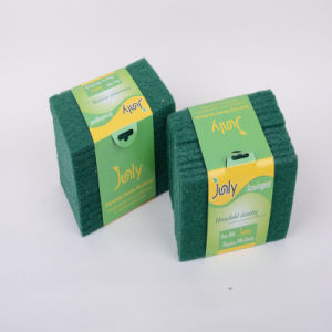 Green, Polyester Sponge, Cleaning Quickly pictures & photos