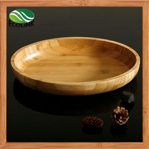 Oval Bamboo Salad Bowl/ Bamboo Bowl pictures & photos