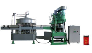 Automatic Carbonated Drinks Filling and Sealing Machine pictures & photos
