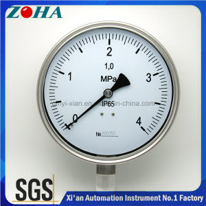 Manometer Wika with All Stainless Steel Material Protection Grade IP65 pictures & photos