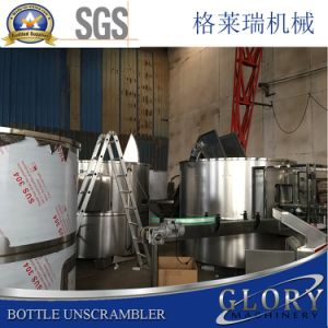 Stable Bottle Unscrambler Connected with Filling Line pictures & photos