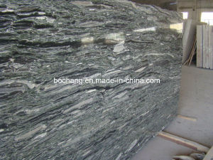 Polished Sea Wave Green Granite Slab pictures & photos