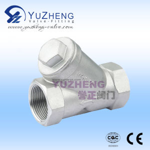 Ss304 Thread Strainer Manufacturer in China pictures & photos