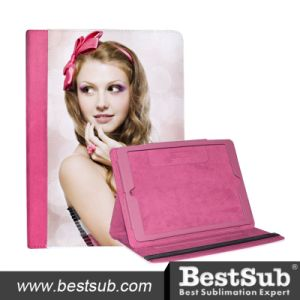 Bestsub New Arrival Sublimation Tablet Case for iPad Air Pink PU Case (IPD18P) pictures & photos