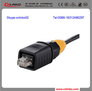 Rj 45 Network Port Connector/RJ45 Modular Plugs/Cat 5 Networking Connector pictures & photos