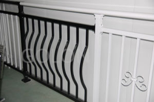 Easily Assembled Aluminum Railing Balcony pictures & photos