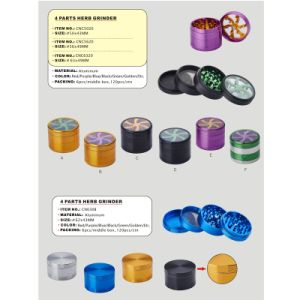 Multi Parts Herb Colorful Grinder for Tobacco