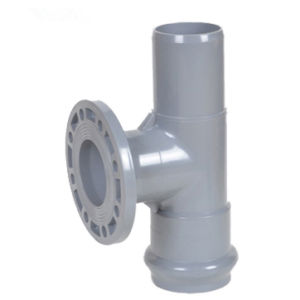 Best Quality Plastic PVC Tee (PVC Fitting DIN Standard) pictures & photos