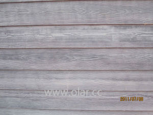 Wood Grain Fiber Cement Wall Cladding pictures & photos