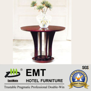 Lobby Decorate Furniture Wooden Flower Stand Table (EMT-FD10) pictures & photos