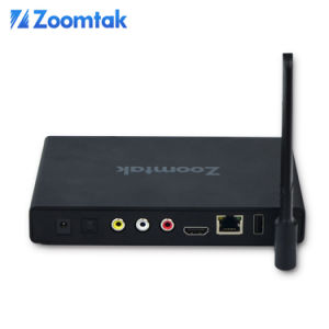 New Arrival Model Zoomtak T8V Quad Core Android 5.1 S905 Kodi 16.1 Android TV Box pictures & photos
