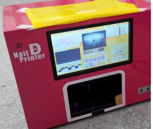Digital Nail Printer with Touch Screen Controlled