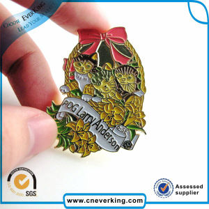 Low Cost Enamel Decorative Scarf Pins pictures & photos