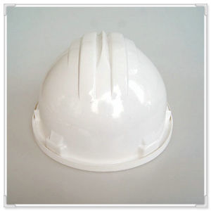 White ABS/PE/HDPE Safety Work Helmet with Ce/ANSI/En/ISO Certificate with Ratchet Adjustment and Nylon Lining pictures & photos