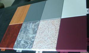 Non-Perforated Decorative Aluminum Ceiling Panels pictures & photos