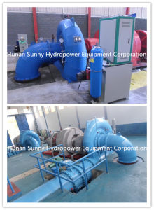 Hydropower Francis Turbine Generator 1.5MW High Voltage 13.6kv /Hydropower / Hydro (Water) Turbine pictures & photos