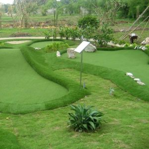 High Quality and Cheap Artificial Landscaping Grass for Garden pictures & photos
