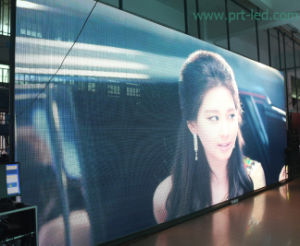 P12.5 LED Strip/Mesh Curtain for Indoor/Outdoor (800X800mm panel size) pictures & photos