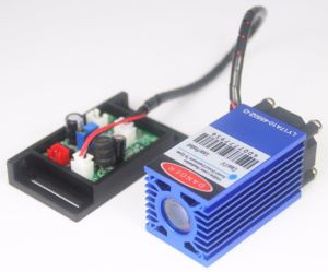 Blue Cutting Laser Module 1.6W 450nm Laser Module for Engraving pictures & photos