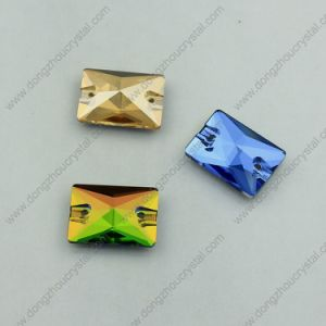 Rectangle Sew on Glass Stones for Garment Decoration pictures & photos