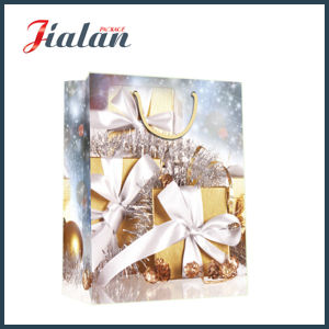 2016 Customize Christmas Gifts Glossy Laminated Art Paper Gift Bag pictures & photos