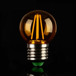 6W E27 Edison G45 Light Bulb Type LED Filament Light pictures & photos
