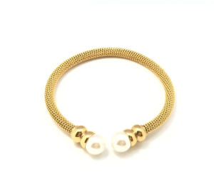 Fashion Pearl Jewelry Stainless Steel Jewelry Bracelet pictures & photos