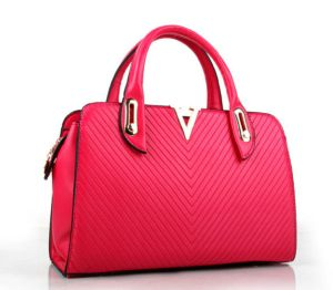 2015 New Fashion Women Designer Lady PU Leather Handbag (XP407) pictures & photos