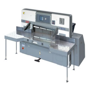 Touch Screen Double Worm Wheel Paper Cutting Machine (SQZK1850DH) pictures & photos