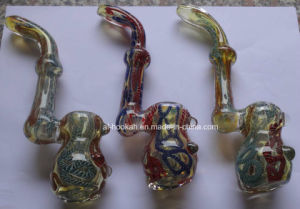 Glass Hand Pipe with New Design Model Ea-46