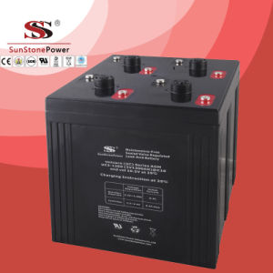 AGM 1000ah Deep Cycle Lead Acid Battery Solar Battery pictures & photos