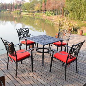 Outdoor Cast Aluminum Garden Furniture Patio Set Metal Tables and Chairs pictures & photos