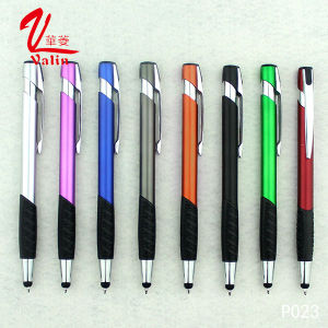 High Quality Ballpoint Pen Stylus Plastic Pen on Sell pictures & photos