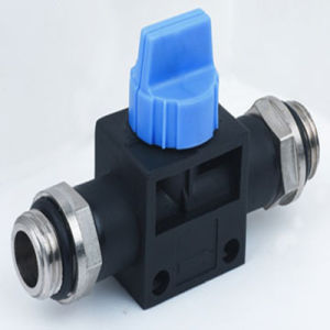 Pneumatic Fittings Hand Valves Hvss BSPP Thread pictures & photos