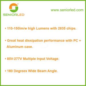 UL Dlc T8/T10/4FT/8FT Aluminum LED Tube Light pictures & photos