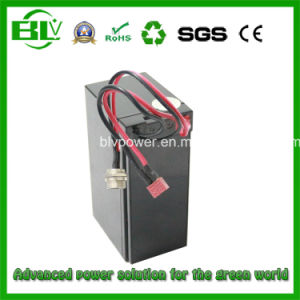 6600mAh 6.6ah Lithium Polymer Battery Pack 7.4V pictures & photos