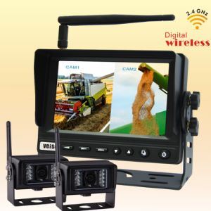 Wireless Vehicle Reverse Security Camera System with 2.4GHz Digital Car Monitor pictures & photos