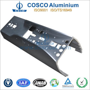 Competitive OEM Aluminum Extrusion for Amplifer with CNC Machining pictures & photos