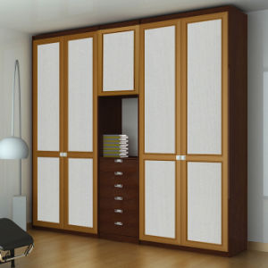 MDF Wardrobe with Hinge Door pictures & photos
